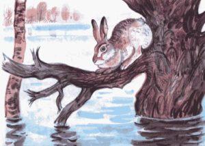 Сочинение по картине Комарова Наводнение 5 класс