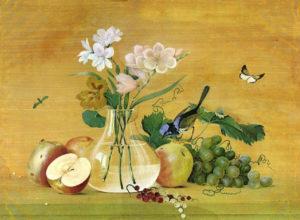 Сочинение по картине Толстого Цветы фрукты птица 5 класс