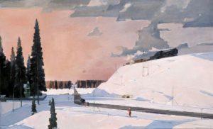 Сочинение по картине Г. Нисского «Февраль. Подмосковье» 5 класс