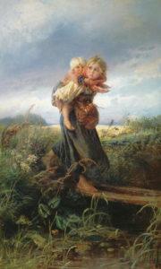 Сочинение-описание картины К.Е. Маковского «Дети, бегущие от грозы»