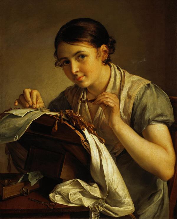Сочинение-описание картины В. А. Тропинина «Кружевница» 4 класс