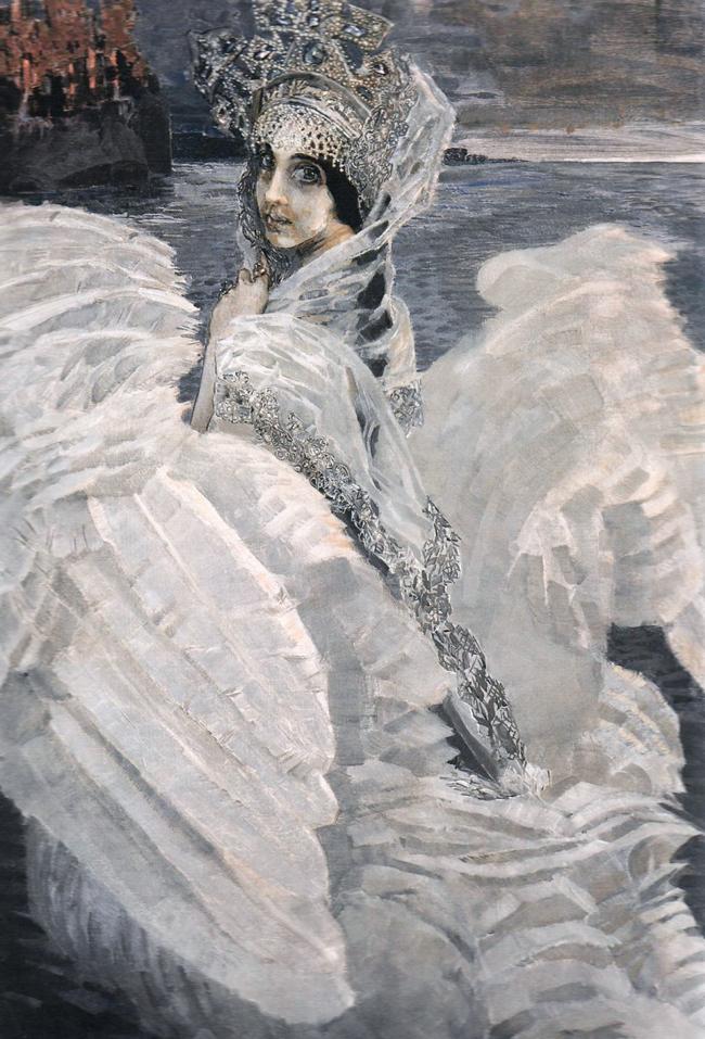 Сочинение по картине М.А. Врубеля «Царевна-Лебедь» 4 класс