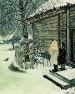 Сочинение по картине А.А. Пластова «Первый снег» 4 класс